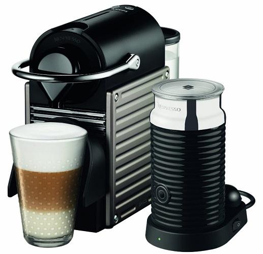 Krups XN 301 T Pixie Nespressoautomat 19bar 0,7l + Welcome-Pack + Aeroccino  für 169,99 Euro