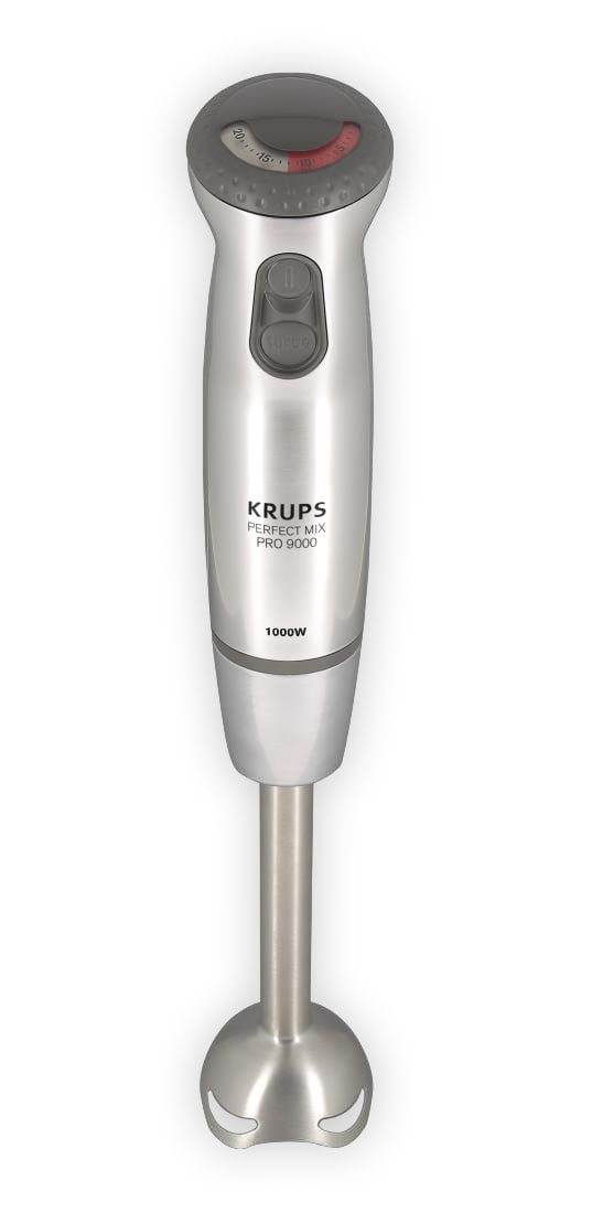 Krups HZ 4071 Perfect Mix Pro 9000 Stabmixer 1000W 4-Messer-Technologie für 129,99 Euro