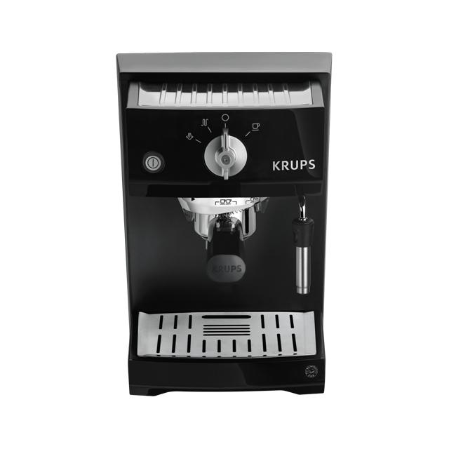 Krups XP5210 Espressoautomat 15bar 1l Dampfdüse Piano für 209,00 Euro