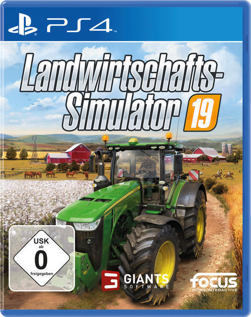 Landwirtschafts-Simulator 19 (PlayStation 4) für 29,99 Euro
