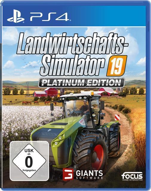 Landwirtschafts-Simulator 19 Platinum Edition (PlayStation 4) für 49,99 Euro
