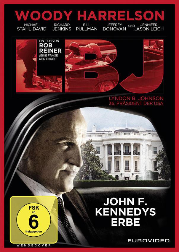 LBJ (DVD) für 13,99 Euro