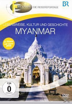 Lebensweise, Kultur und Geschichte - Myanmar (DVD) für 13,99 Euro
