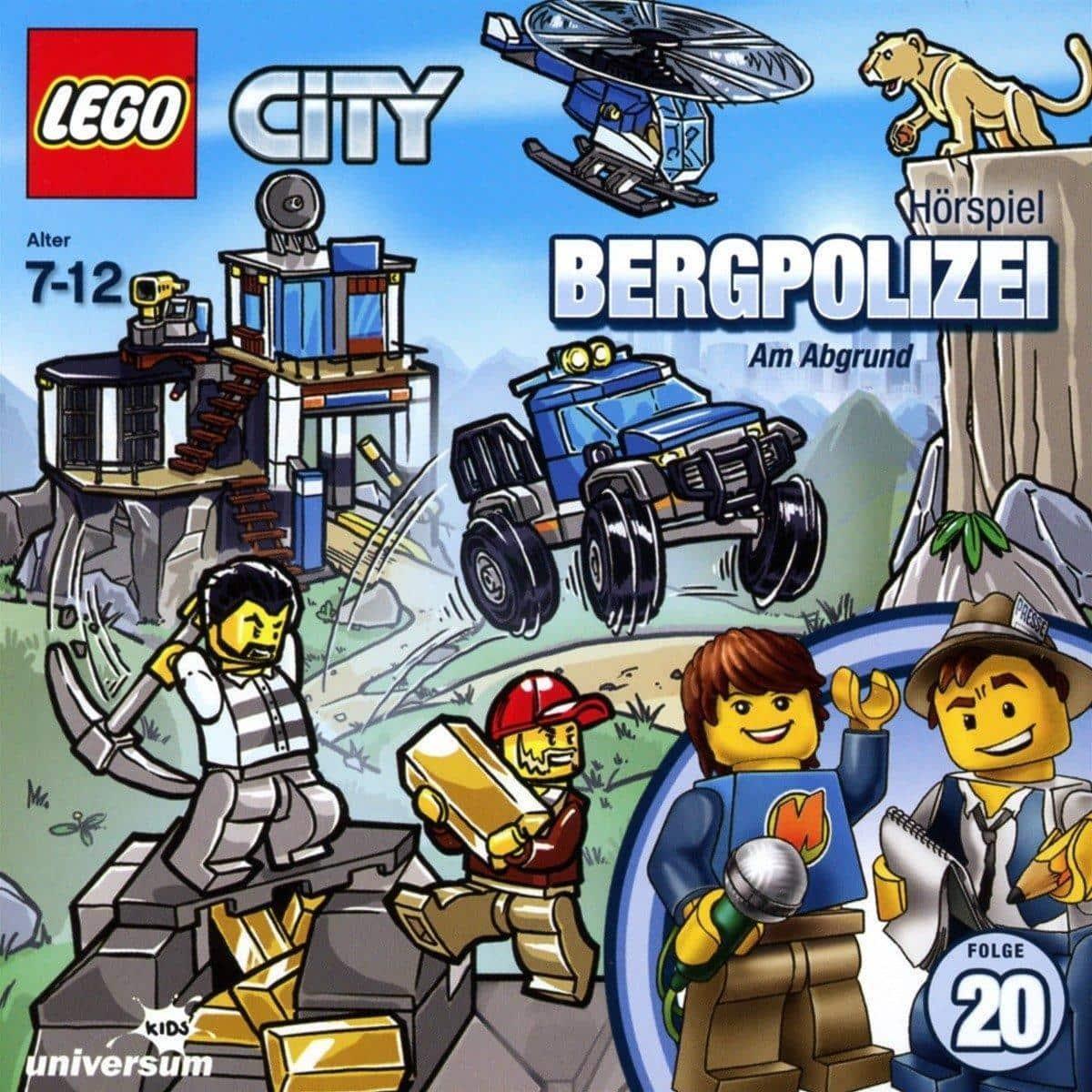 Lego City 20: Bergpolizei  (CD(s)) für 7,99 Euro