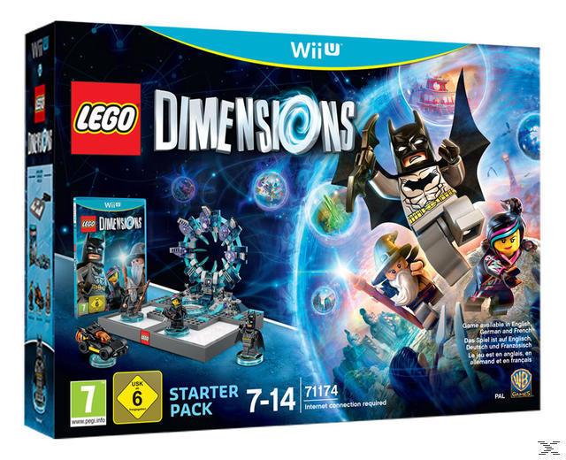 LEGO Dimensions - Starter Pack (Nintendo Wii U) für 25,00 Euro