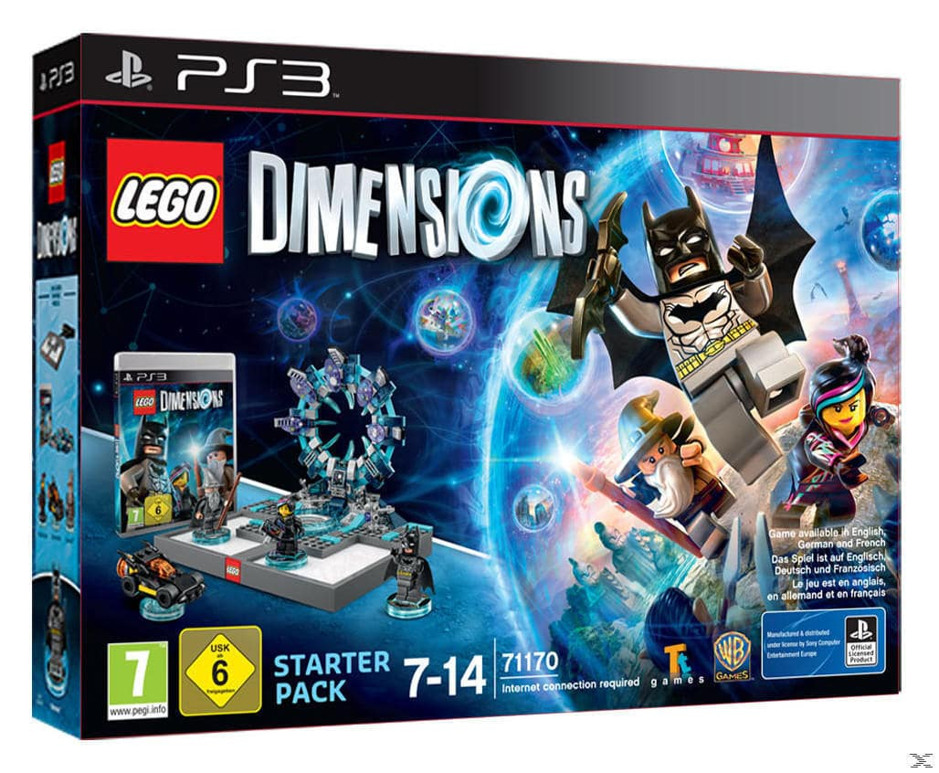 LEGO Dimensions - Starter Pack (Playstation3) für 79,99 Euro