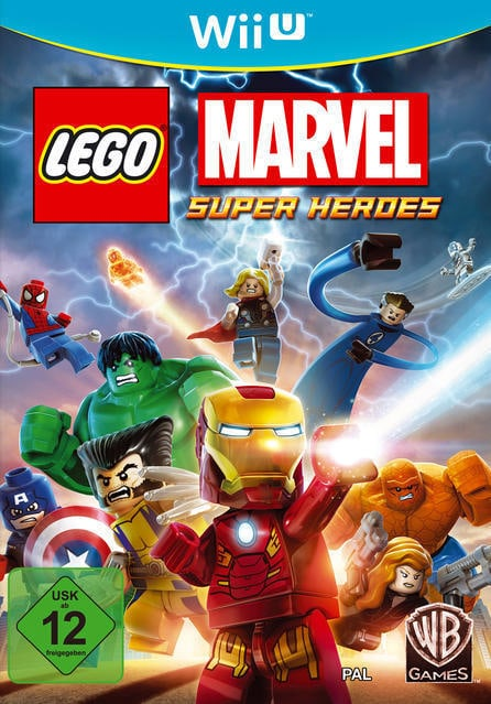 LEGO Marvel Super Heroes (Nintendo Wii U) für 22,00 Euro