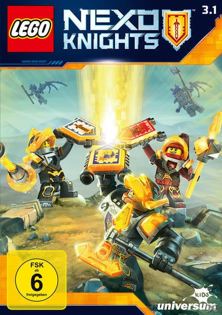 LEGO - Nexo Knights - Staffel 3.1 (DVD) für 9,74 Euro