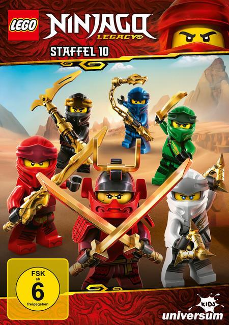 LEGO Ninjago Staffel 10 (DVD) für 9,99 Euro