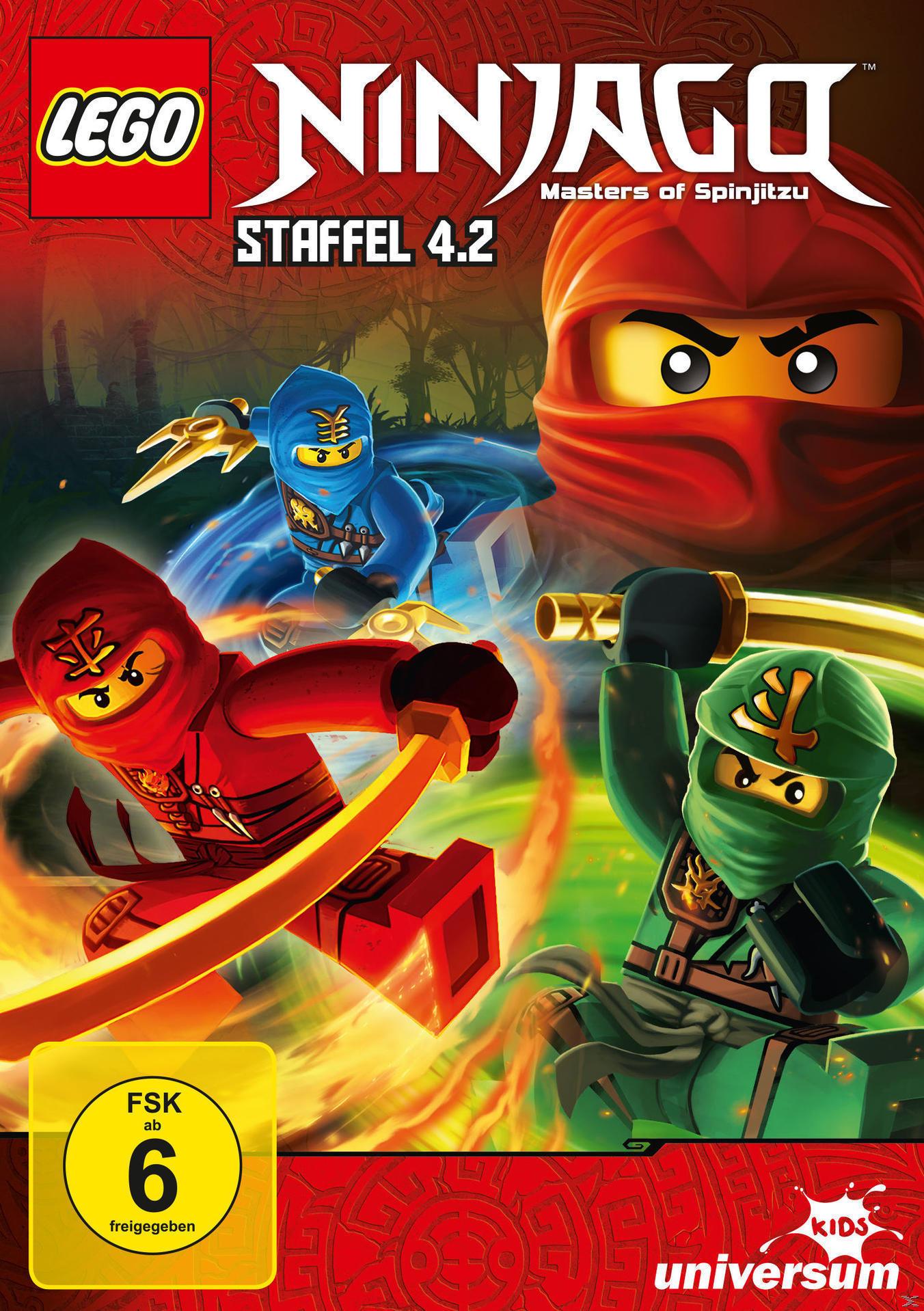 LEGO Ninjago Staffel 4, Teil 2 (Folgen 39-44) (DVD) für 7,99 Euro