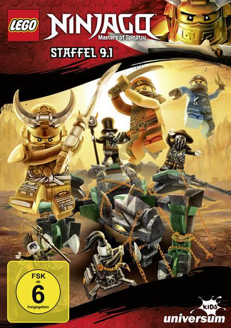 LEGO Ninjago Staffel 9.1 (DVD) für 9,99 Euro