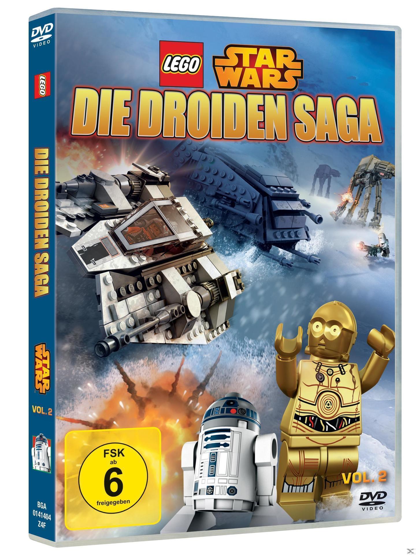 Lego Star Wars - Die Droiden Saga - Vol. 2 (DVD) für 8,99 Euro