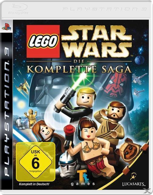 Lego Star Wars: Die komplette Saga (Software Pyramide) (Playstation3) für 20,00 Euro
