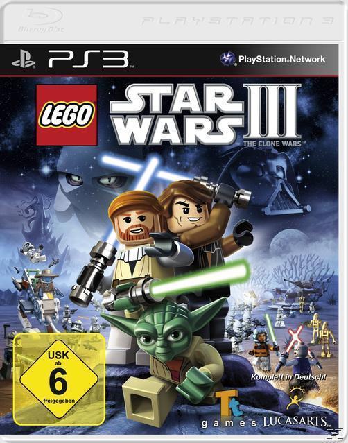 LEGO Star Wars III: The Clone Wars (Software Pyramide) (Playstation3) für 20,00 Euro