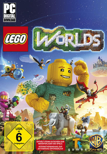 Lego Worlds (Software Pyramide) (PC) für 24,99 Euro