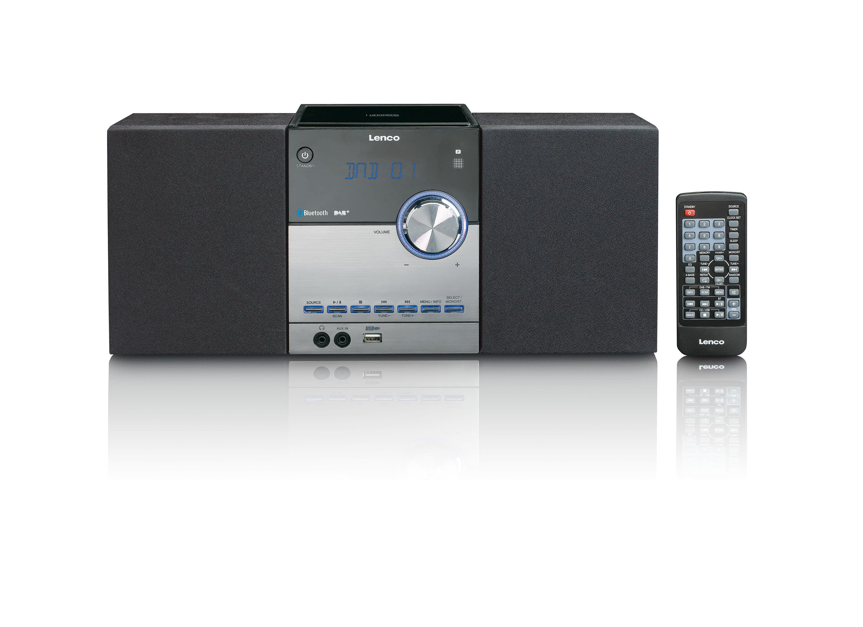 Lenco MC-150 CD Payer DAB,DAB+,FM,PLL Radio für 119,00 Euro