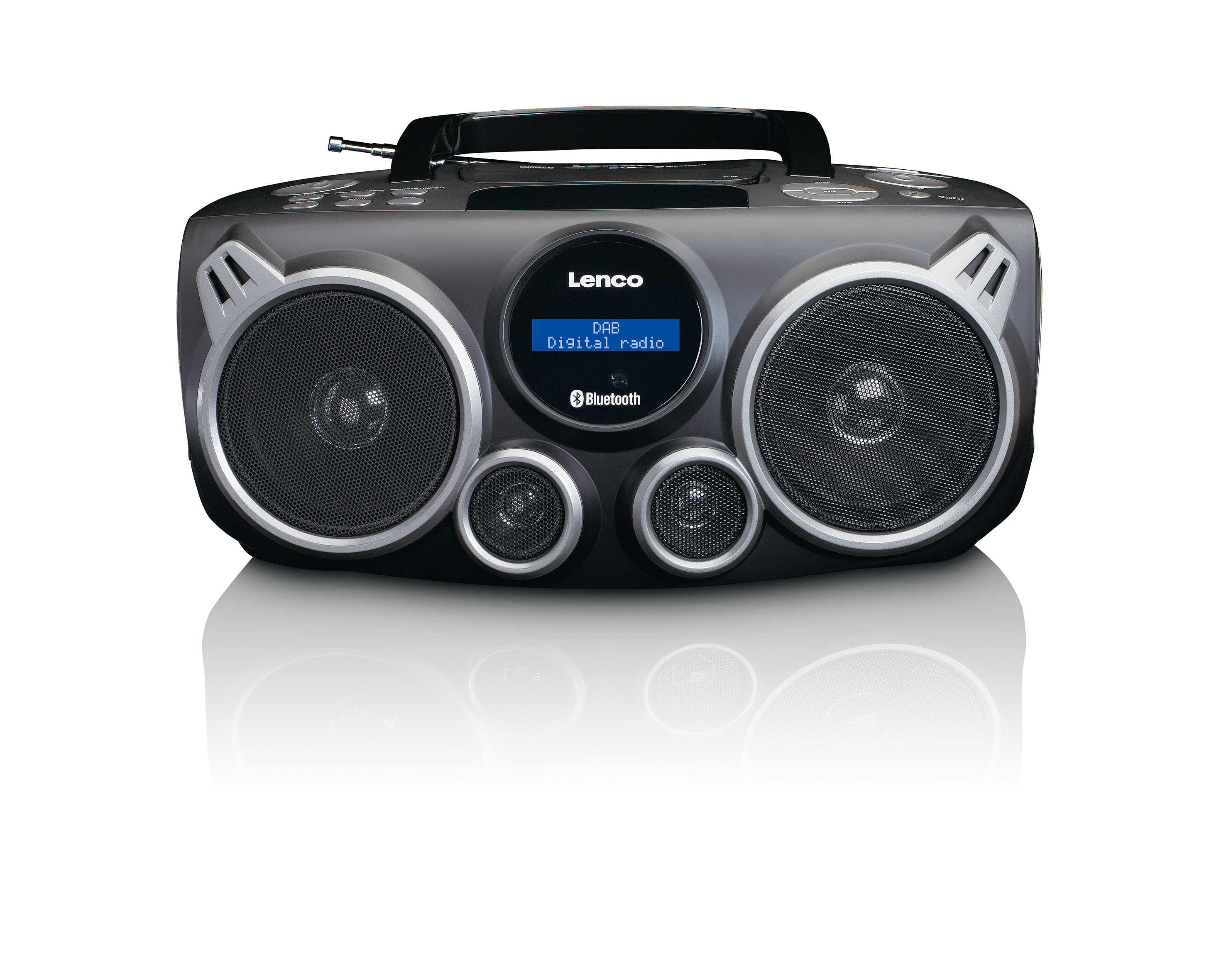 Lenco SCD-685 portables DAB+/FM Radio CD Bluetooth USB SD-Kartenleser für 107,22 Euro