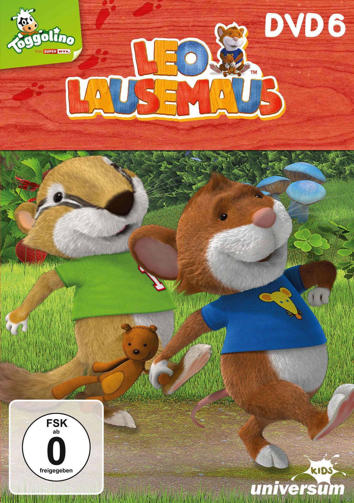 Leo Lausemaus - DVD 6 (DVD) für 9,99 Euro
