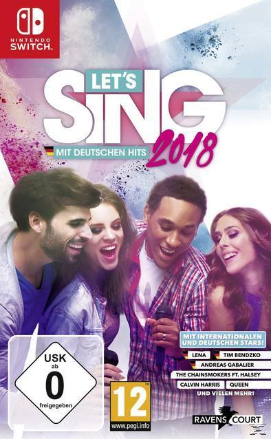 Let's Sing 2018 mit Deutschen Hits (Nintendo Switch) für 39,99 Euro