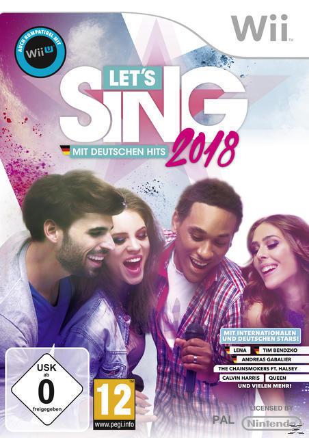 Let's Sing 2018 mit Deutschen Hits (Nintendo WII) für 39,99 Euro