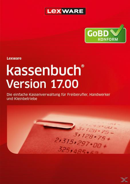 Lexware kassenbuch Version 17.00 (2018) Jahresversion (365-Tage) (PC) für 99,00 Euro