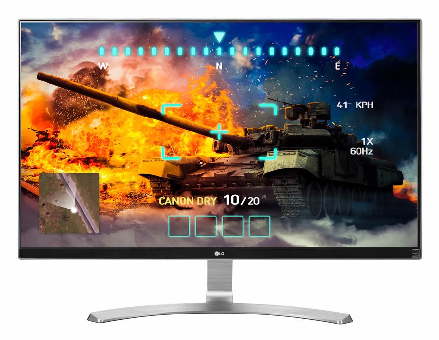 LG 27UD68-W Monitor 68,6cm 27 Zoll LED 4K UHD B HDMI DisplayPort 5ms für 499,00 Euro