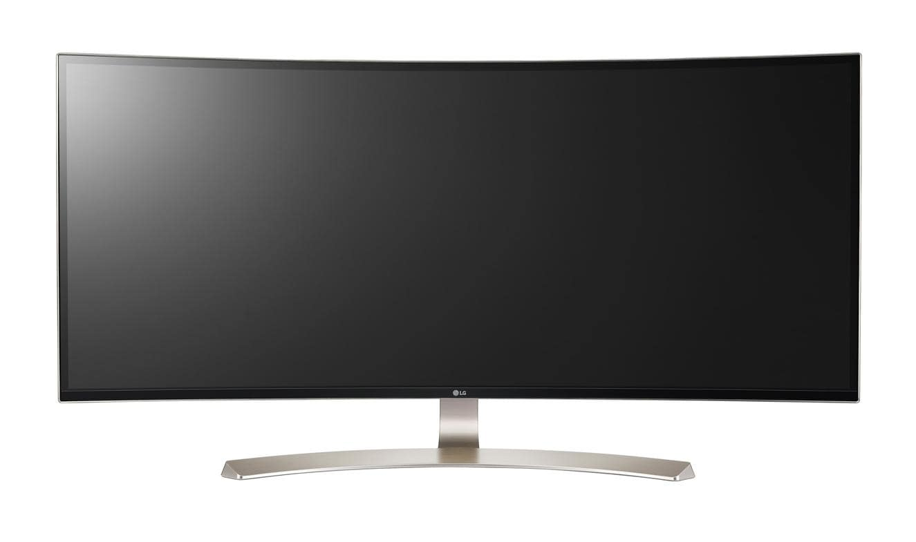 LG 38UC99-W Curved Gaming-Monitor95cm 37,5 Zoll  B HDMI DisplayPort USB 1ms für 1.299,00 Euro