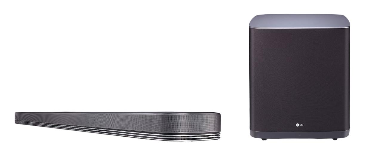 LG SJ9 5.1.2 Dolby Atmos Soundbar 500W Bluetooth WLAN Multiroom-Funktion für 849,00 Euro