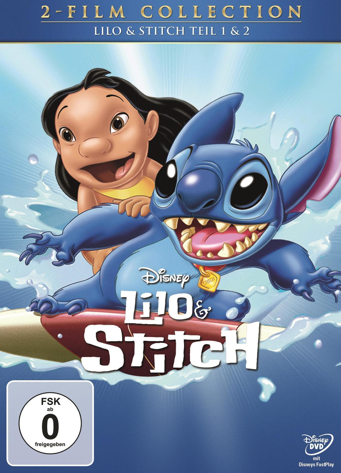 Lilo & Stitch - Movie Collection (DVD) für 19,99 Euro