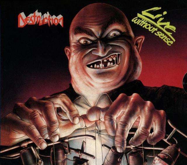 Live Without Sense (Slipcase) (Destruction) für 19,49 Euro