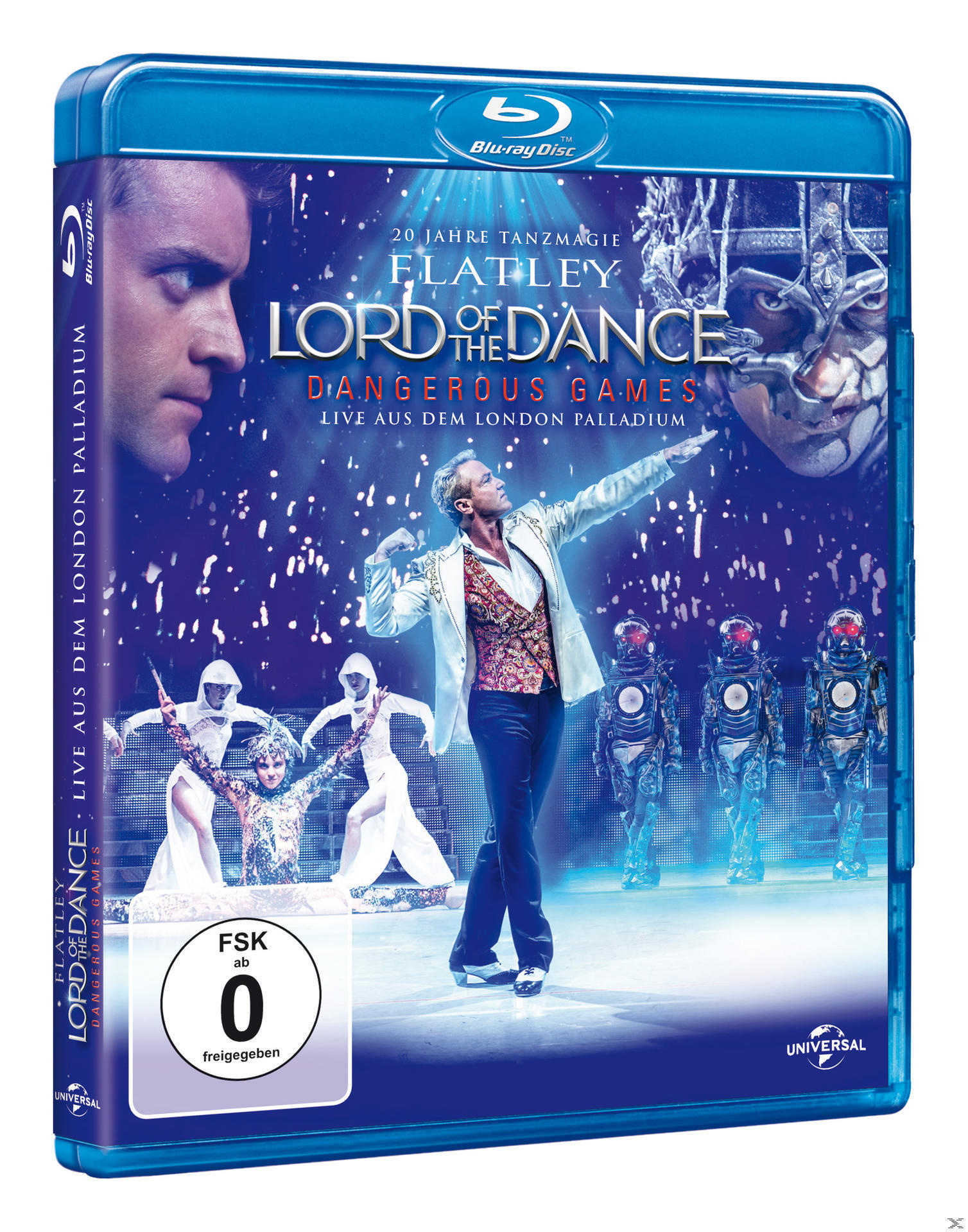 Lord Of The Dance - Dangerous Games (BLU-RAY) für 17,99 Euro