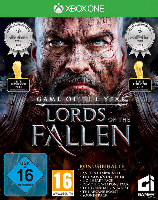 Lords of the Fallen - Game of the Year Edition (Xbox One) für 19,99 Euro