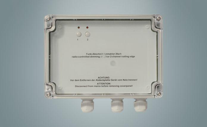 M-Cab HM-LC-Dim2T-SM Funk-Dimmaktor 2-fach Phasenabschnitt (Aufputz) für 149,95 Euro
