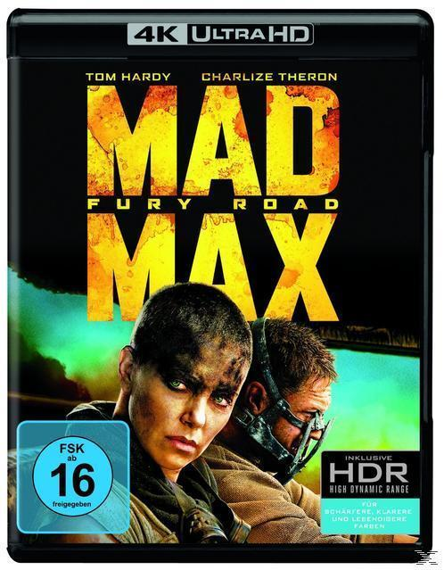 Mad Max: Fury Road (BLU-RAY) für 24,99 Euro