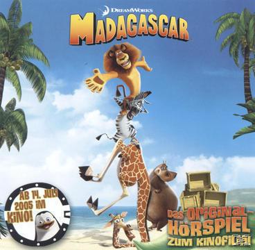 Madagascar, Original-Hörspiel zum Kinofilm (CD(s)) für 6,99 Euro