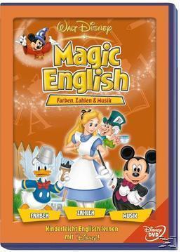 Magic English - Vol. 8 - Farben, Zahlen und Musik (DVD) für 7,99 Euro
