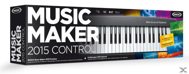 MAGIX Music Maker 2015 Control (PC) für 149,00 Euro