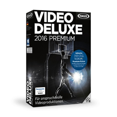 Video Deluxe 2016 Premium Full für 129,00 Euro