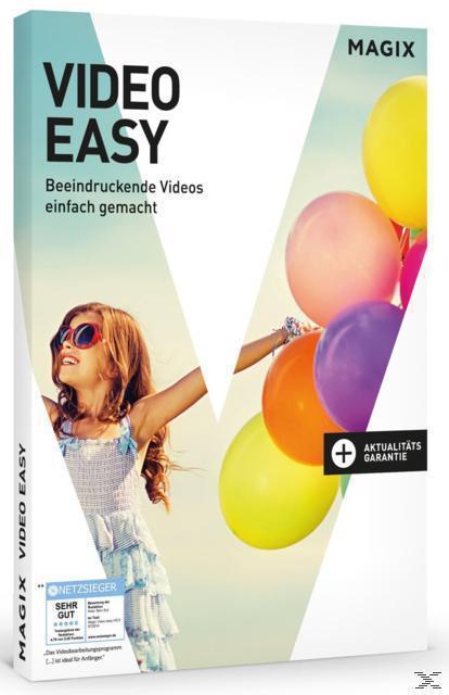 MAGIX Video easy (Version 6) - Beeindruckende Videos einfach gemacht (PC) für 49,99 Euro