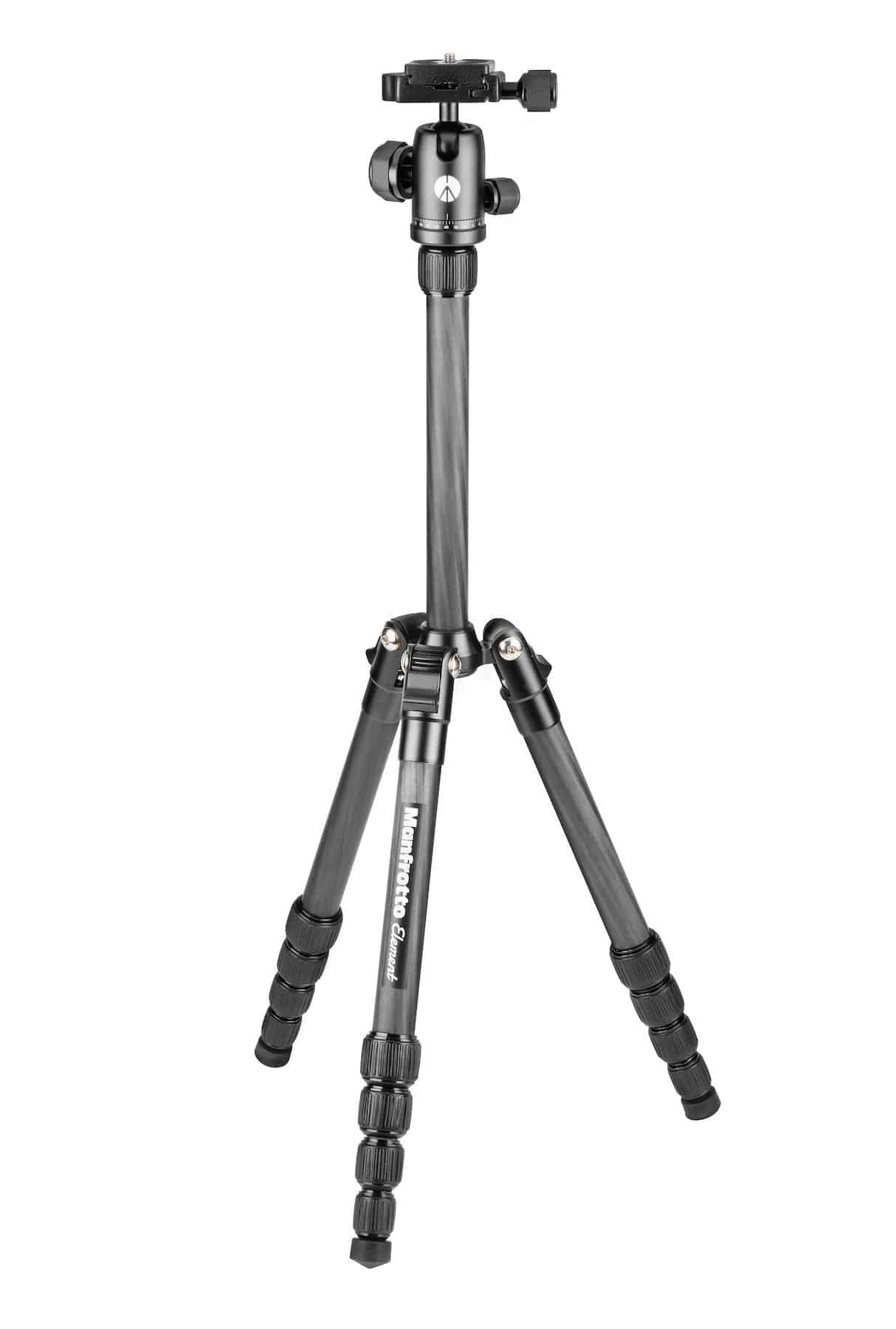 Manfrotto Element Traveller Kit Carbon klein 4kg Traglast Aluminium-Kugelkopf für 126,99 Euro