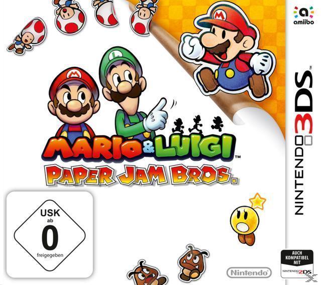 Mario & Luigi: Paper Jam Bros. (Nintendo 3DS) für 24,99 Euro