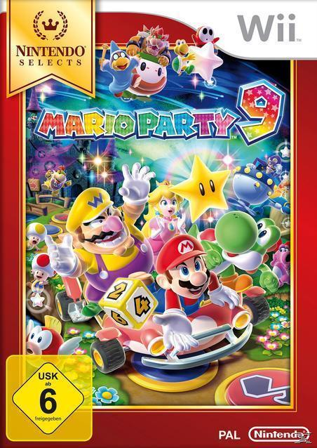 Mario Party 9 (Nintendo Selects) (Nintendo WII) für 24,99 Euro