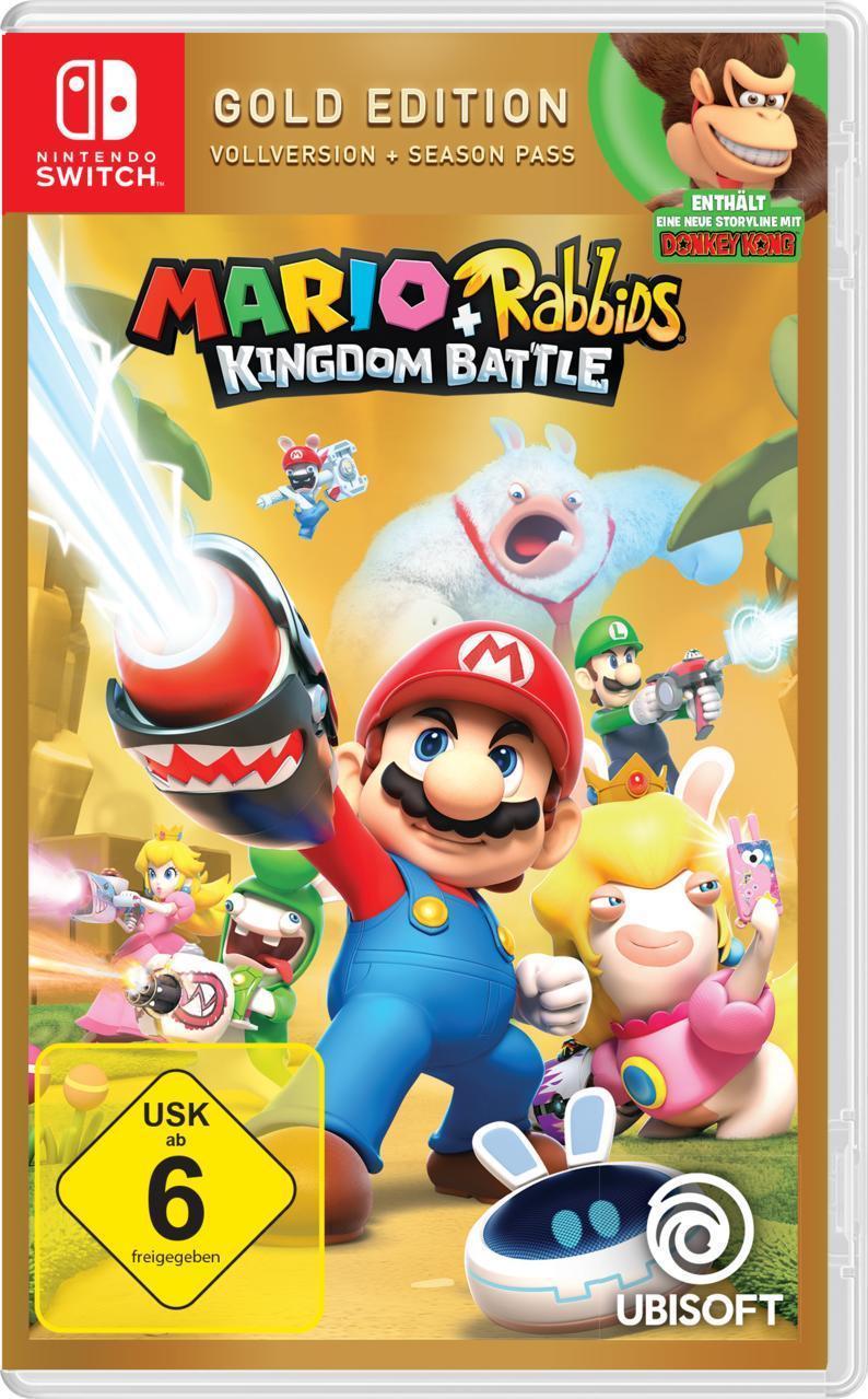 Mario + Rabbids Kingdom Battle Gold Edition (Nintendo Switch) für 38,98 Euro