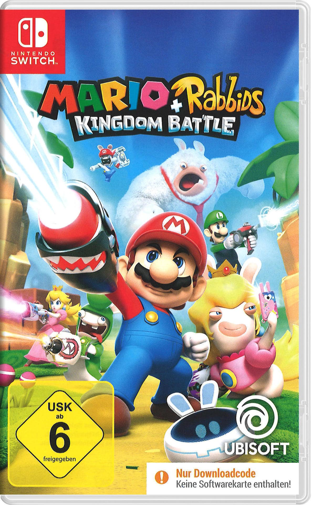 Mario + Rabbids Kingdom Battle (Nintendo Switch) für 29,24 Euro
