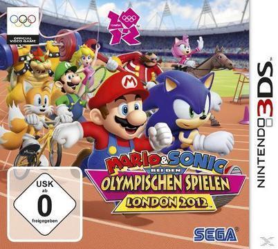 Mario & Sonic bei den Olympischen Spielen London 2012 (Software Pyramide) (Nintendo 3DS) für 30,00 Euro