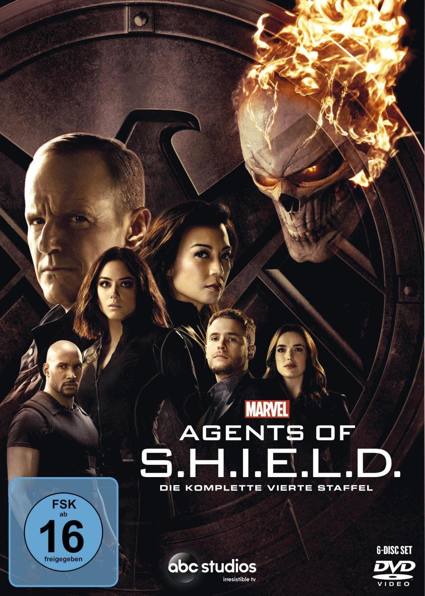 Marvel´s Agents Of S.H.I.E.L.D. - Staffel 4 (DVD) für 35,99 Euro