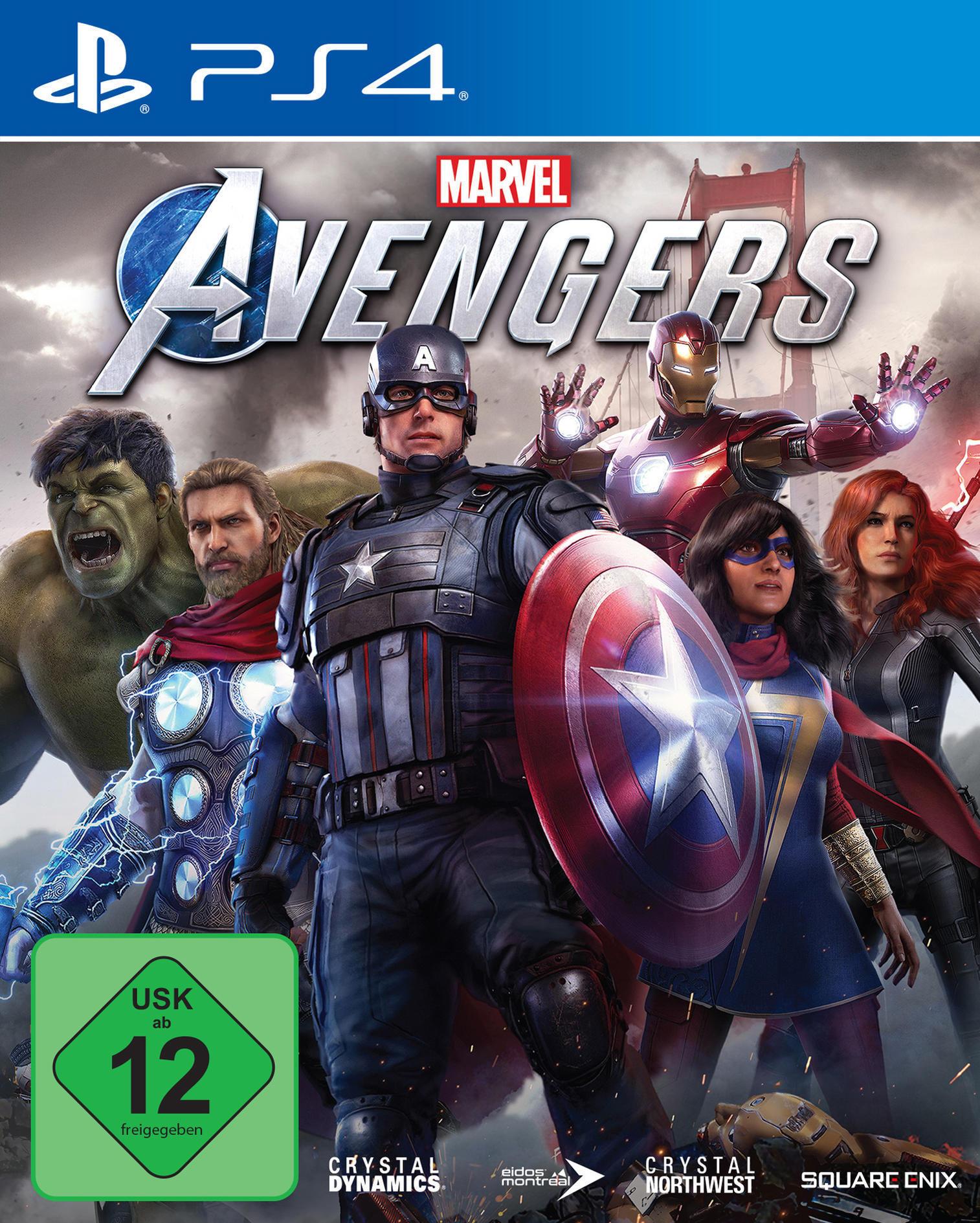 Marvel's Avengers (kostenloses Upgrade auf PS5) (PS4) (PlayStation 4) für 44,00 Euro