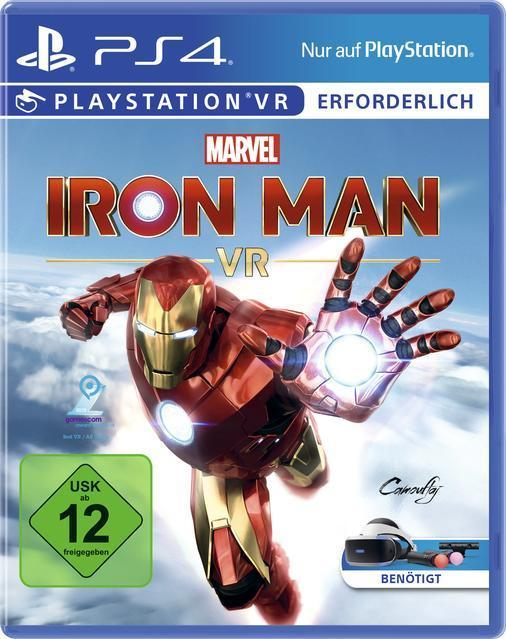 Marvel's Iron Man VR (PlayStation 4) für 37,99 Euro