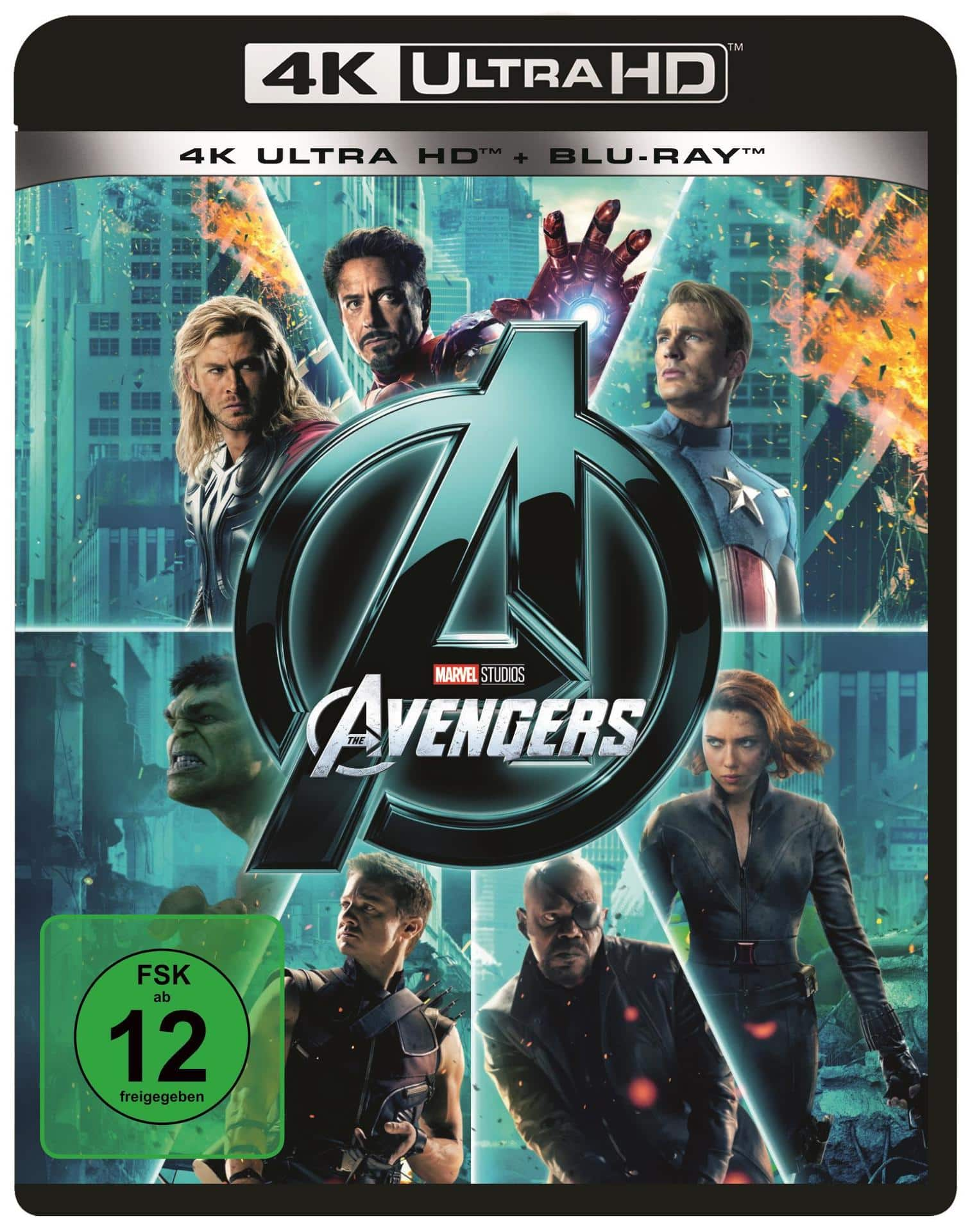 Marvel's The Avengers (4K Ultra HD BLU-RAY) für 27,99 Euro