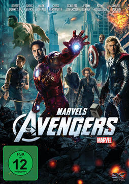 Marvel's The Avengers (DVD) für 9,99 Euro